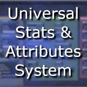 Create, use and manage your own stats and attributes systems!