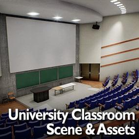 University Classroom / Auditorium Interior
