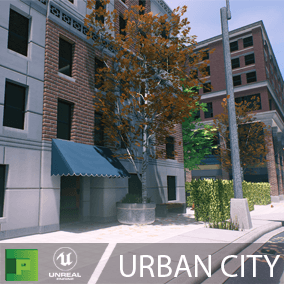 Urban City pack is a great base for almost any desktop game centered around a city. The pack comes with completed props, buildings, and full scene, but also with the necessary modular parts to easily build your own custom world.