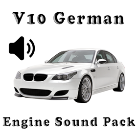 V10 German - Engine Sound Pack is a v10 car engine sound pack.