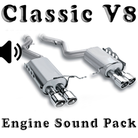 V8 Classic American - Engine Sound Pack is a v8 classic car engine sound pack.