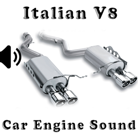 V8 Italian - Engine Sound Pack asset contain engine sound wav files.