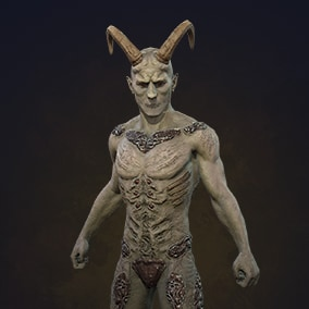 Low poly character for horror/rpg game