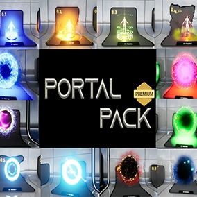 Advanced Niagara VFX Portal Pack