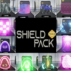 Advanced Niagara VFX Shield Pack