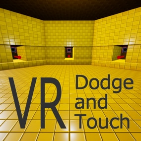 VR Dodge and Touch helps making a VR game dodging and touching an approaching object.