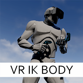 VR IK Body Plugin is designed to evaluate body position from VR input.