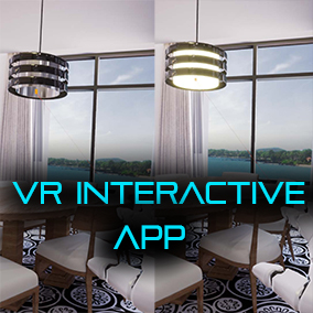 VR Interactive app that let you customize material, color, toggle light, grab object easily with line trace (HTC VIVE)