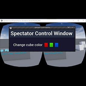 Want to be able to use Unreal Engine UMG together with the spectator view in your VR apps? You can now do so with our Spectator Control Window plugin!