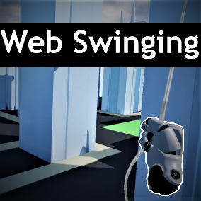 Easy and customizable web swinging for VR your game.