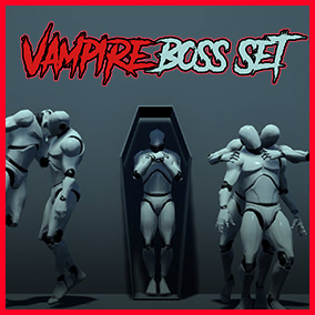 Collection of Vampire Boss Animations