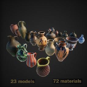 23 models, 49 materials: 1127 combinations
