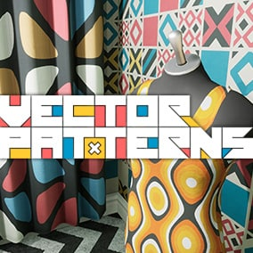 Vector patterns collection.