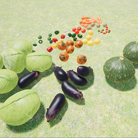 Some vegetables sets