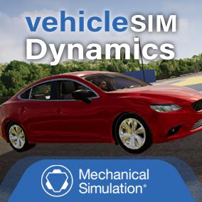 The VehicleSim Dynamics plugin runs CarSim and TruckSim math models in an Unreal environment.