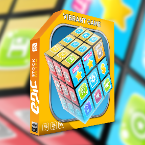 Vibrant Game is perfect for: mobile app, puzzle, cartoon and animated games, trivia, party or logic games, multiplayer board games, card games, arcade and style games