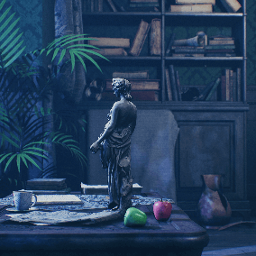 """The """"Victorian House (Only LivingRoom)"""" - About 1050 high quality assets for your game."""