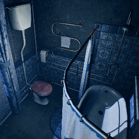 "The ""Victorian House (Only RestRoom)"" - About 400 high quality assets for your game."