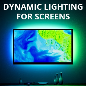 Light your Game or Architectural environments dynamically by video content!