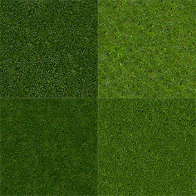This is a material pack featuring several combinations of short grass and clovers, made from scratch with realistic scaling (tested in VR)!
