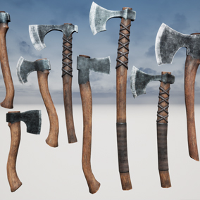 High Quality Collection of 12 Viking Axes