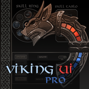 Stylized Viking user interface