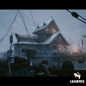 Viking Village Environment Megapack , High quality assets coming up with Showcased Example Winter and Spring Maps