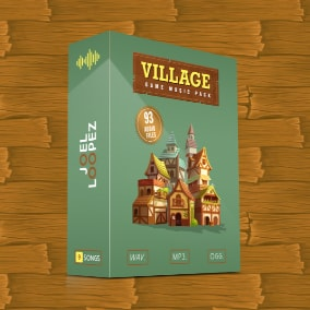 Village Game Music Pack - 9 Songs and 93 Audio Files
