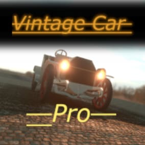 Advanced version of the vintage car ready to use in your project