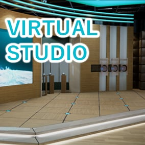 Our Virtual Studio is an environment Morning show pack With AAA Quality. You will find different corners in the design space with video wall video system, which you have the ability to change the video background according to your needs.