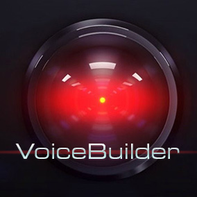 VoiceBuilder lets you easily string together words to create sentences that are spoken in a synthetic voice.