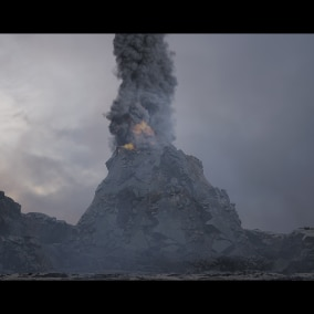 This Project contain 8 Volcano Effects And 3 Fog Effects