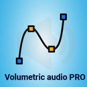 Procedural volumetric audio shapes. Turn your point audio sources into fully volumetric ones