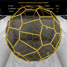 Use Voronoi tessellation to procedurally create unique, repeatable regions in any dimension.