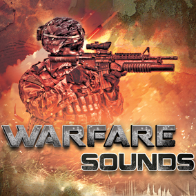 WARFARE SOUNDS is a massive collection of professionally recorded, edited and designed sound effects. Made specifically for games by award winning sound designers.