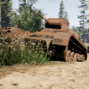 High Quality Damaged Tanks Pack