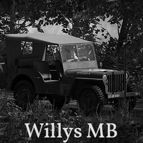 A driveable World War 2 Willys MB Jeep With T3-C Trailer
