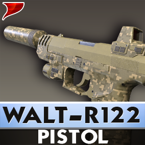 This is a pack of Walt-R122, This Pack includes Models, textures, materials, VFX, SFX and animations.