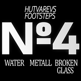 30 FOOTSTEPS SFX. WATER, METALL, BROKEN GLASS