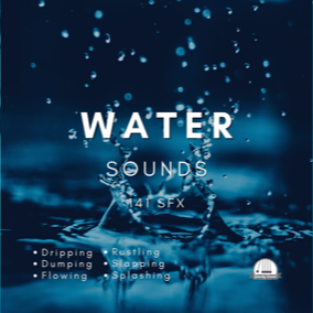 A collection of 141 water movement sounds.