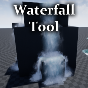This Waterfall Tool has a variety of settings from changing colors and flow speed to automatic cascades and ground detection.