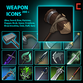 214 weapon icons