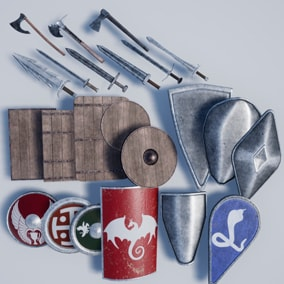 weapons from medieval