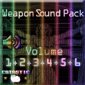 Weapon sound pack - 36 weapons in one pack!