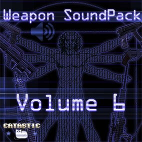 Weapon sound pack volume 6 - Collection of 6 new weapons sounds pack