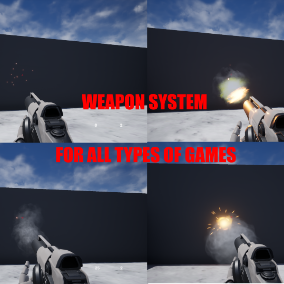 Weapon System for All Games That You Can Add To You Project In A Few Minutes