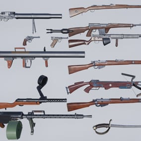 weapons from WW1