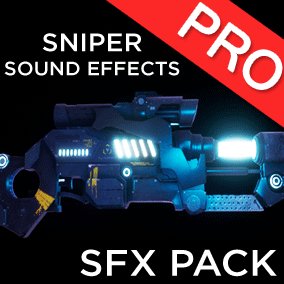 The Weapons SFX: Sniper sound effects pack contains 21 high quality sounds for your sniper weapons! Gun / Guns effect