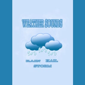 Weather Sounds contains 132 sounds from them 64 seamless loops