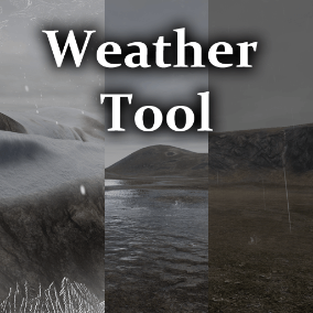 Highly modifiable easy to use weather system with, Rain, Snow, Hail, Lightning, Sound Effects, and Onscreen Post Process.